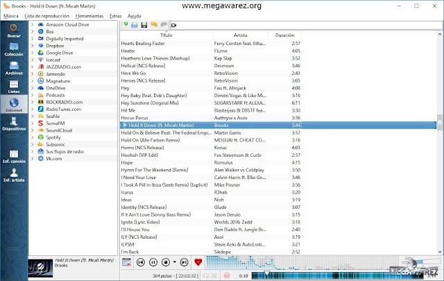 Clementine Music Player imagenes