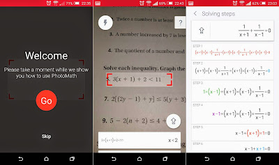 Free download official PhotoMath for Android latest version