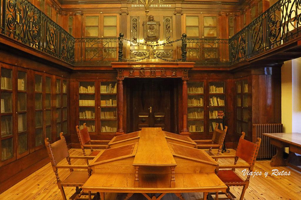 Biblioteca de la Casa de juntas de Guernica