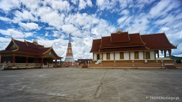A temple in Sam Neua