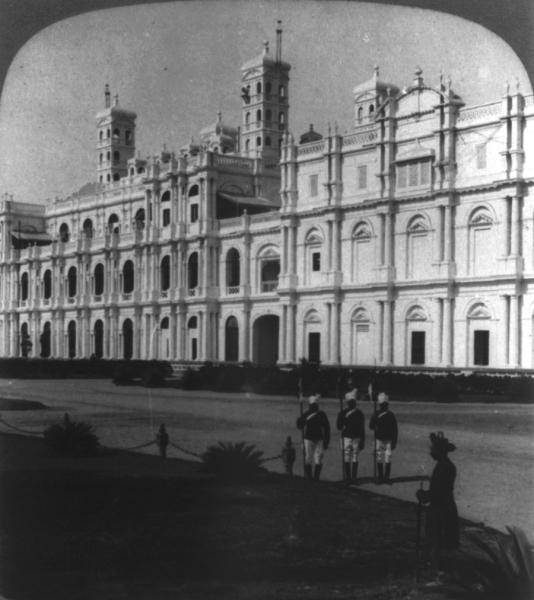 Palace at Gwalior, Madhya Pradesh - 1903