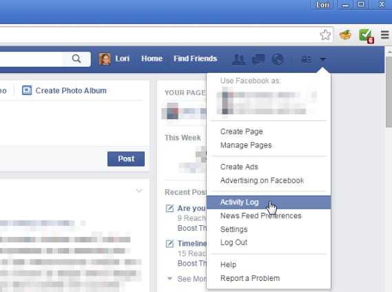 clear facebook search suggestions
