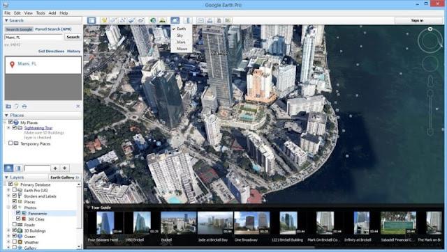 تحميل برنامج جوجل ايرث عربي للكمبيوتر - Google Earth Pro مجانا