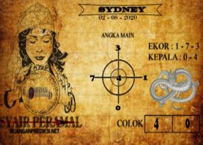 Kode syair Sydney Minggu 2 Agustus 2020 108