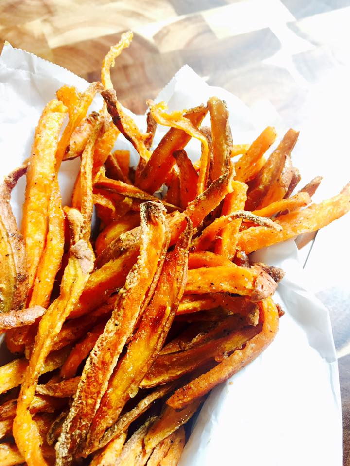 That crispy crunch you like with your sweet potato fries but oven baked instead!