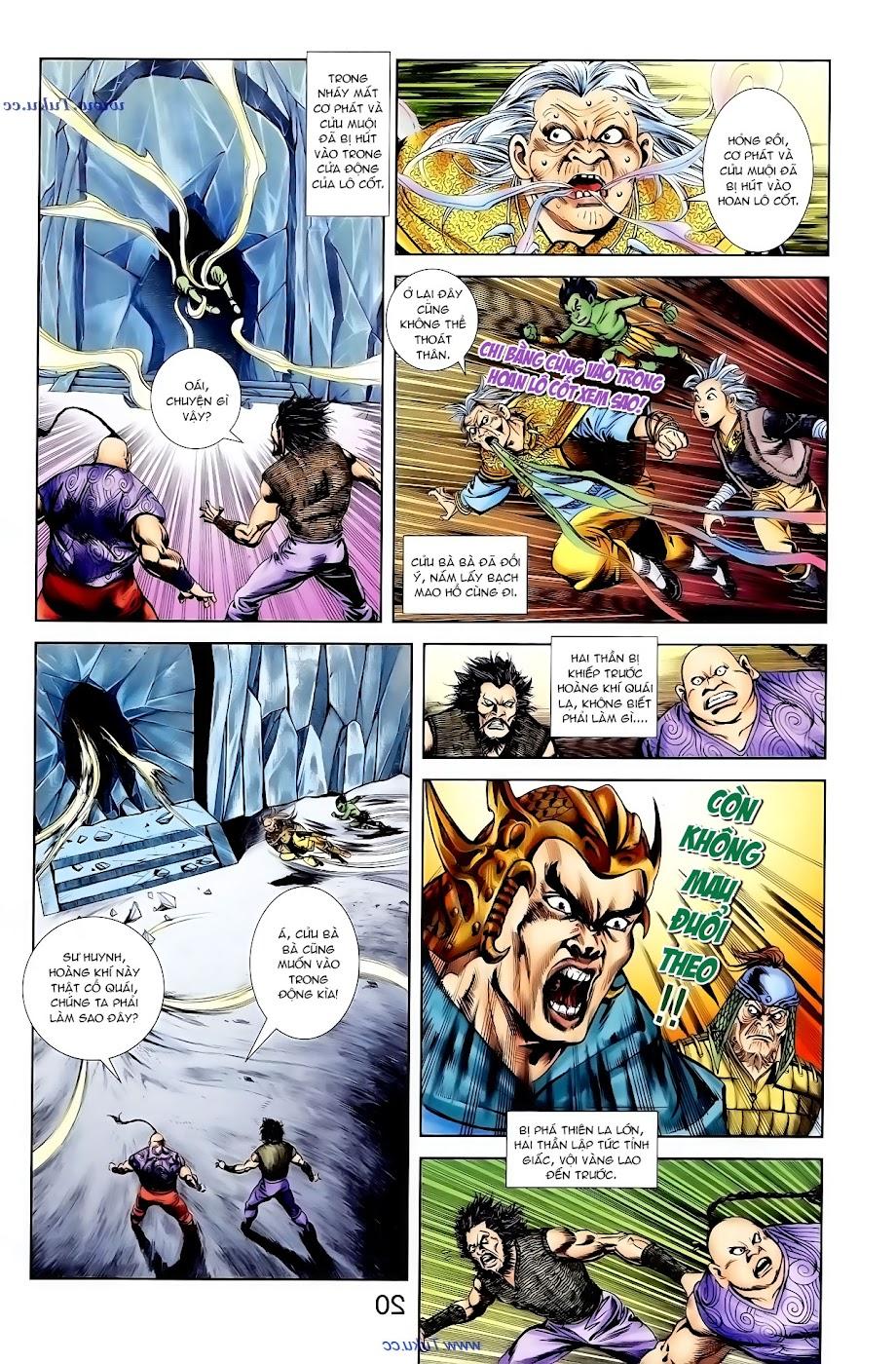 Cơ Phát Khai Chu Bản chapter 96 trang 4