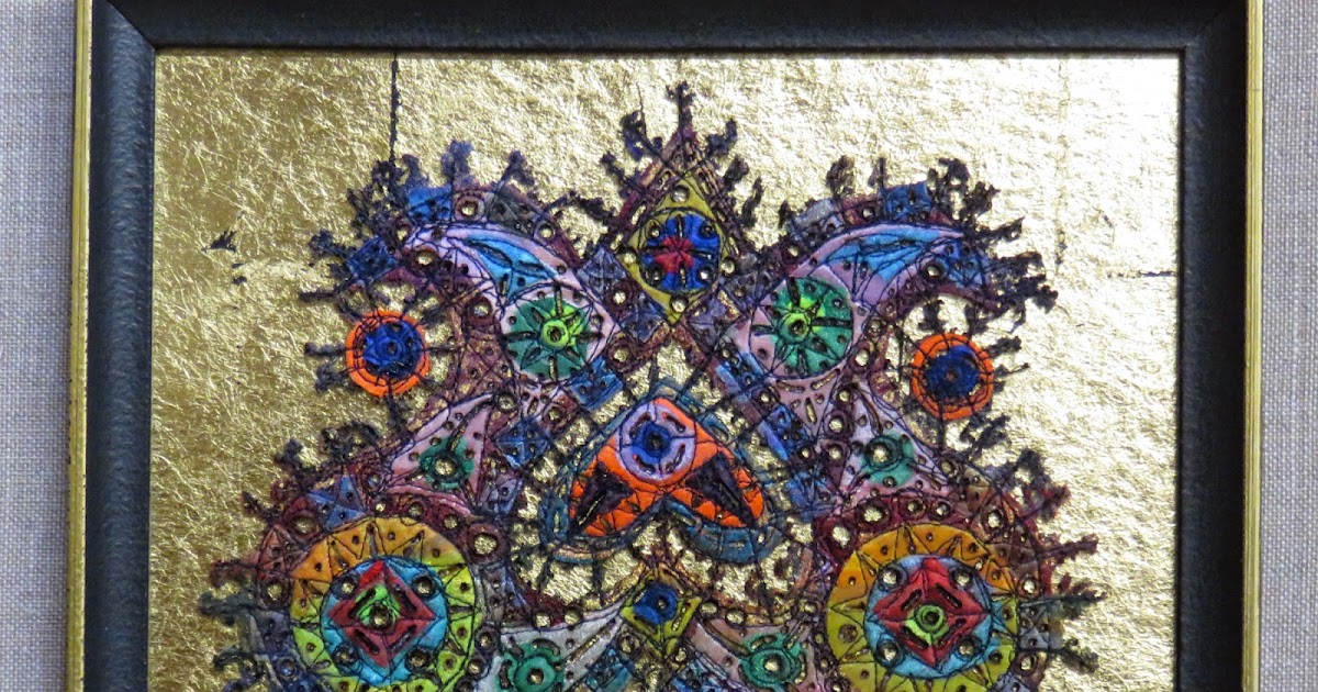 Art In Stitches On Gold And Other Things