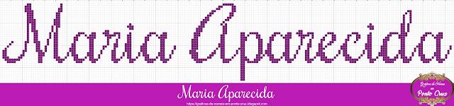 Nome Maria Aparecida em Ponto Cruz