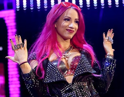 Sasha banks in WWE Summerslam 2016