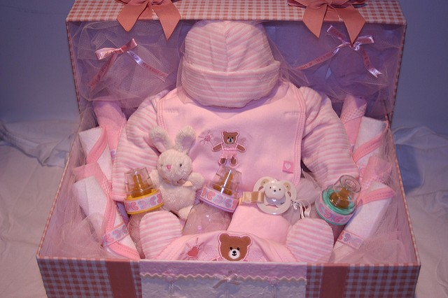 Gift hamper for New Born Baby - Gifts For A Newborn - motherdistracted.co.uk
