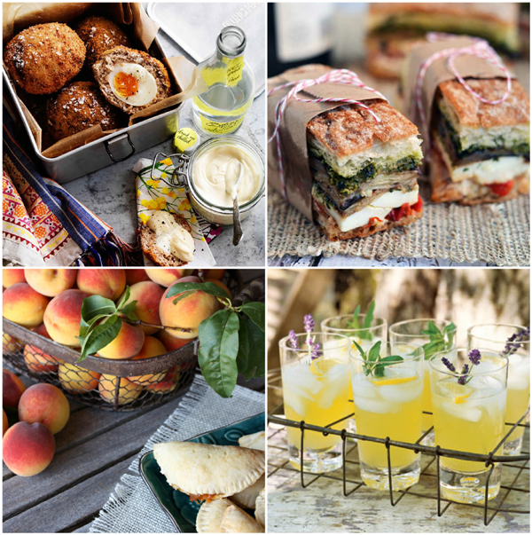 30+ Delicious and Portable Picnic Recipes  - via BirdsParty.com