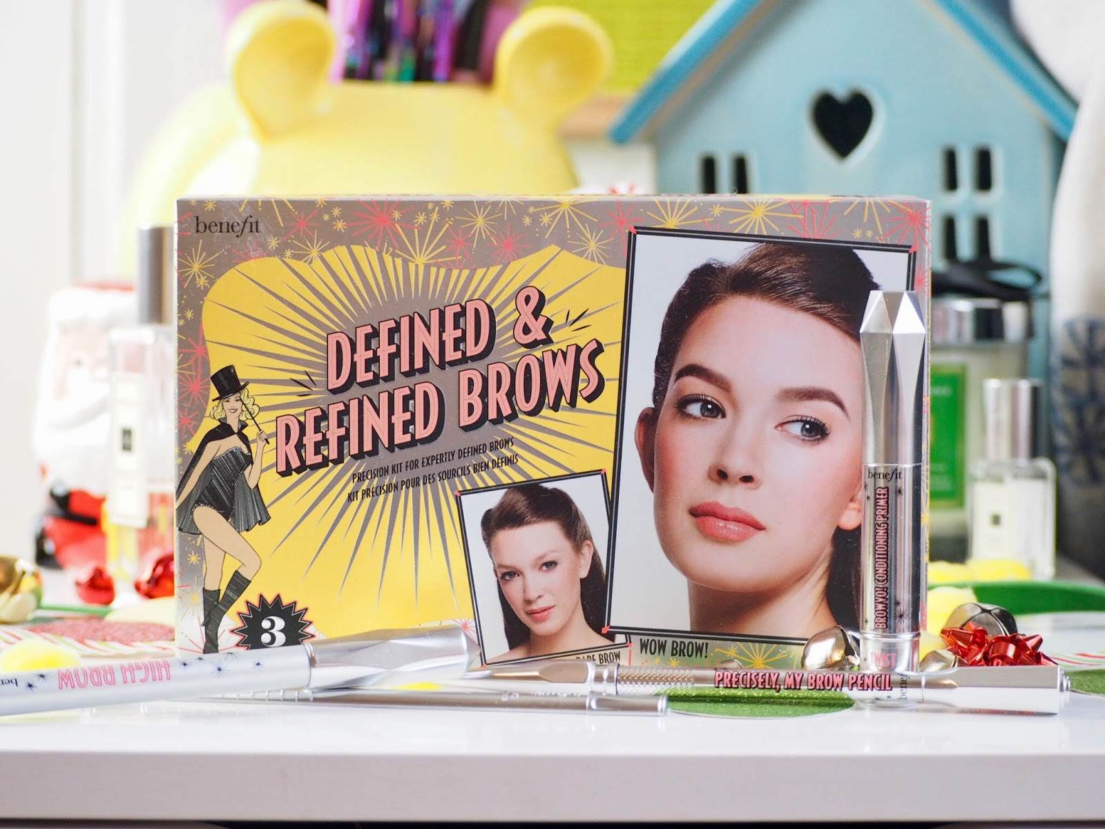 World Duty Free: Benefit Defined & Refined Brows*