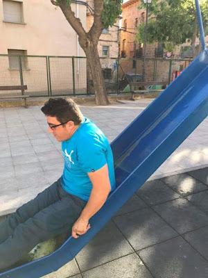 parque,tobogán, Beceite, esbarrizaculos, vértigo, Ángel Guimerá Lorente, Gelete