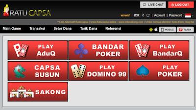 Pilihan Permainan di Situs CapsaBandarQ.com Capsa Online, Agen Bandar Q, Domino 99, Qiu Qiu Online, BandarQ