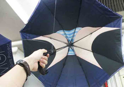 Inilah Desain Model Payung Paling Mesum Di Dunia