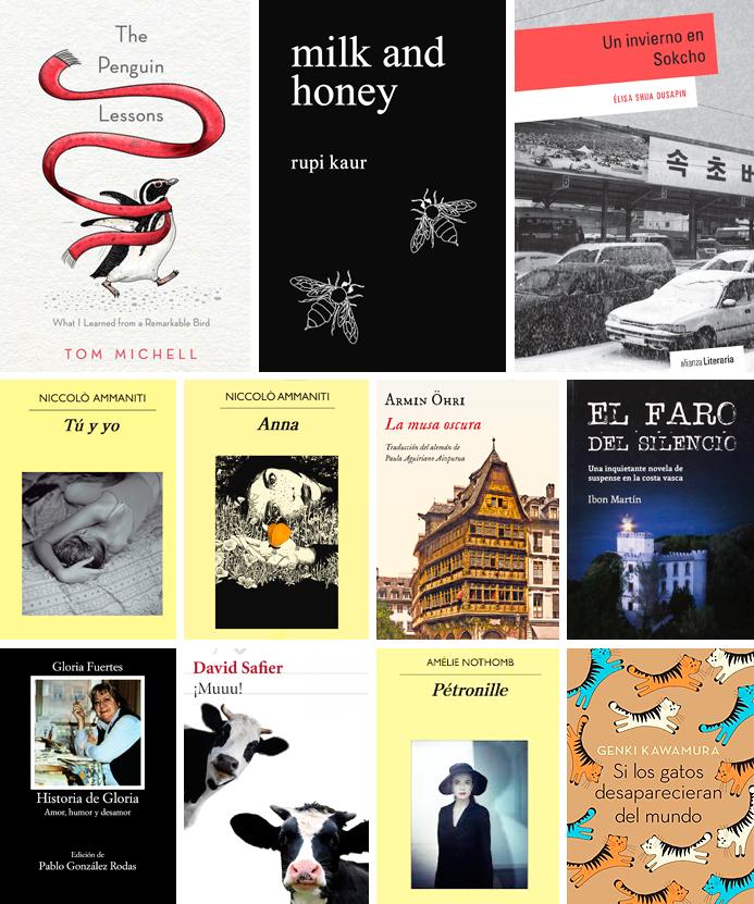 ultimas lecturas novela poesía recomendaciones