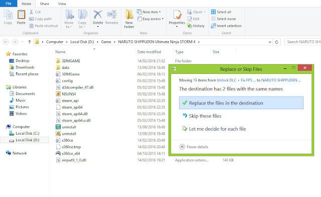 Cara Mengatasi FPS Rendah dan LAG pada Naruto Ninja Storm 4 PC dan macet fps drop
