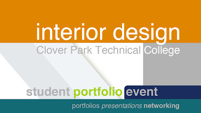 In the Spotlight: Interior Design Student Portfolio Event Today