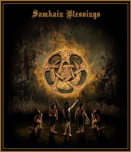 Samhain, Halloween, Dia das Bruxas
