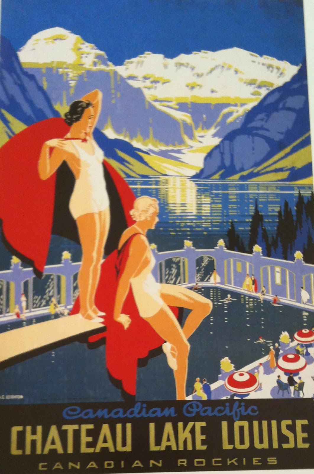 TRAVEL AND TOURISM POSTERS: A BRIEF HISTORY AND CANADA'S ...