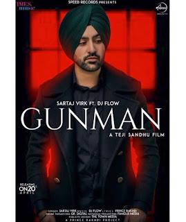 GUNMAN Lyrics - Sartaj Virk Song