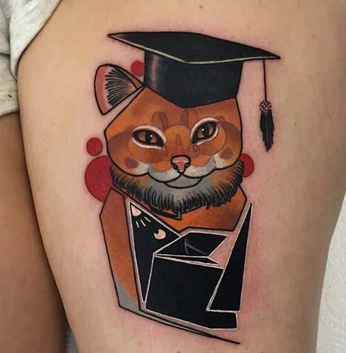 kedi dövmeleri cat tattoos 34