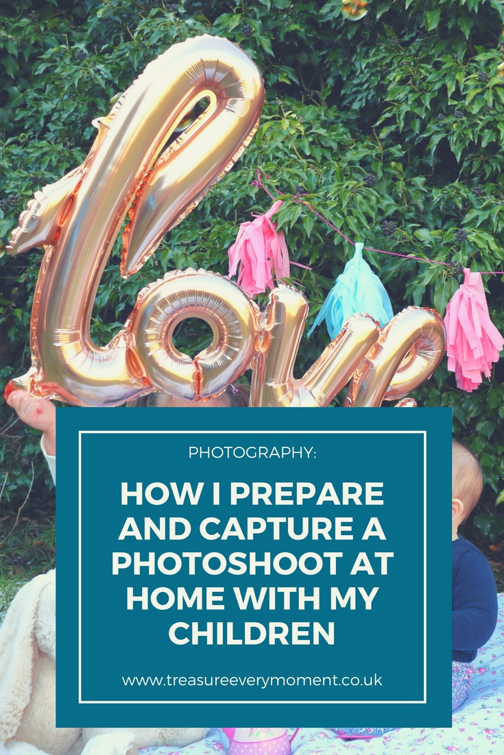 How to Prepare and Capture a Photoshoot at Home with your Children