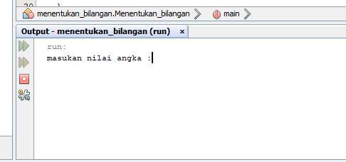 Java Program Menentukan Bilangan ganjil dan genap