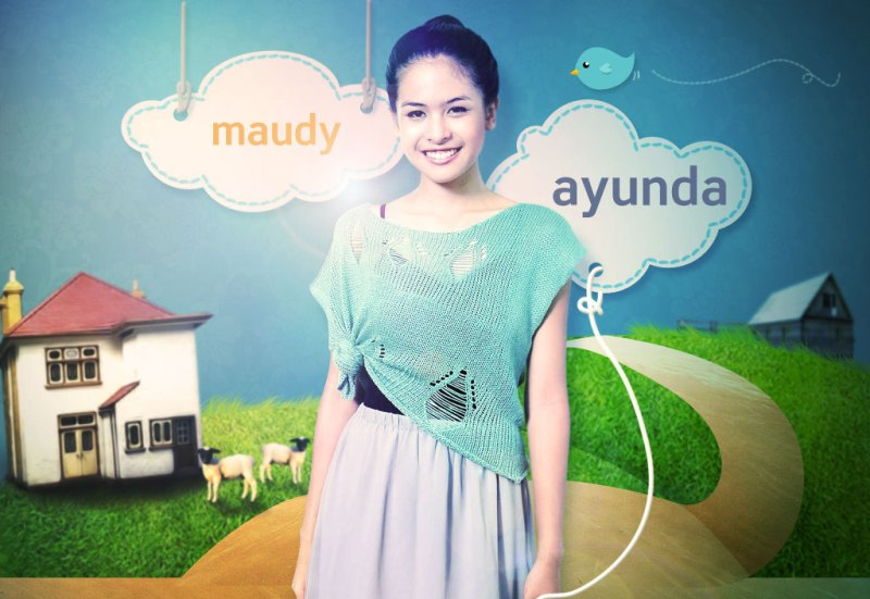 Wallpaper Maudy Ayunda by profilpedia.com
