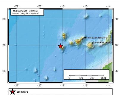 Terremoto en El Hierro, 19 septiembre