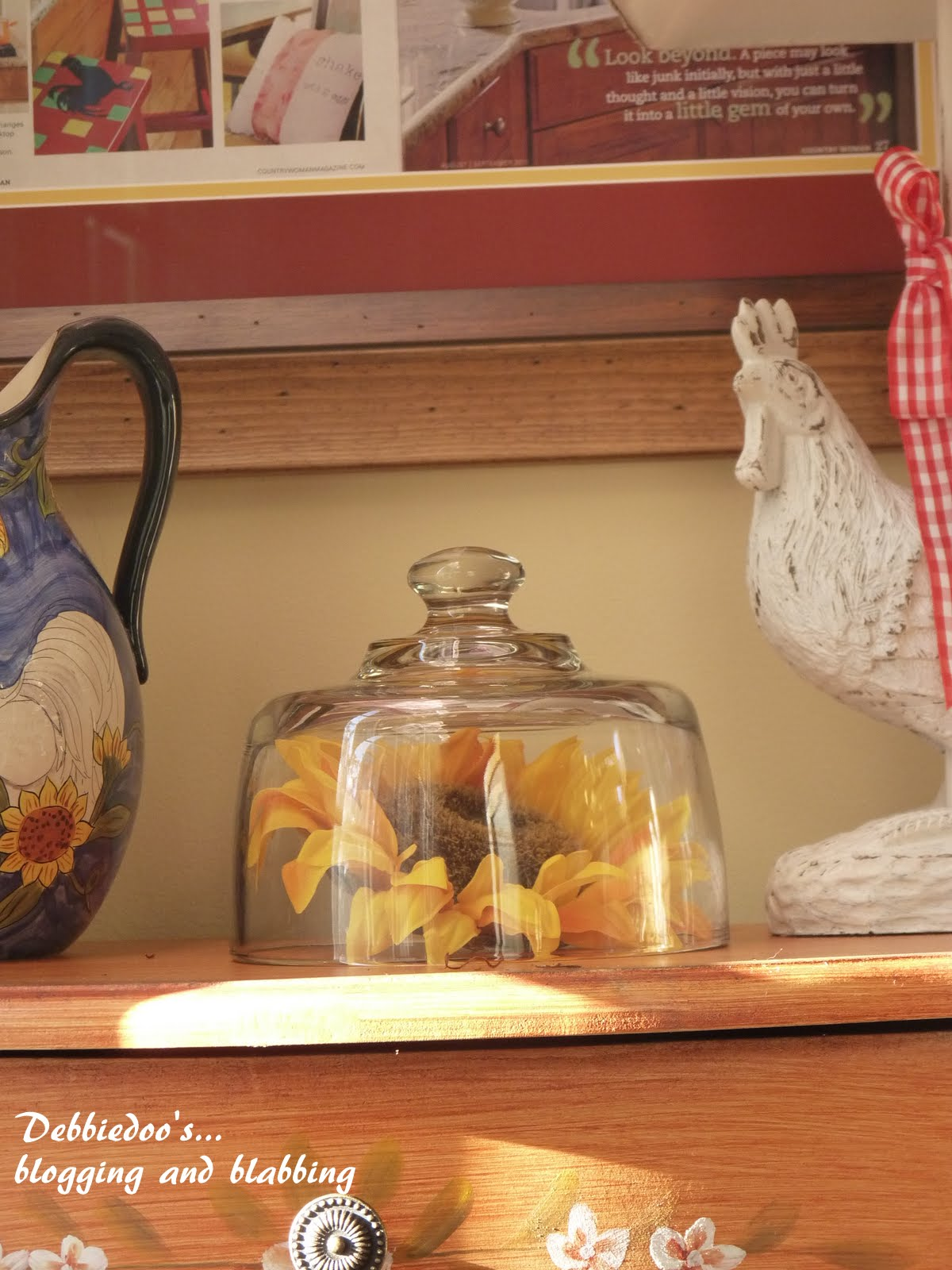 Debbiedoo's: Rooster Kitchen Decor {French Country} NEWBIE