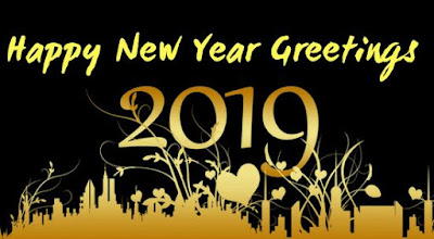 Gambar Ucapan Selamat Tahun Baru 2019 Greetings Happy New Year