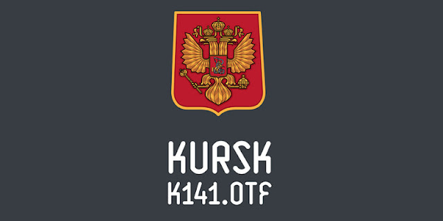 Шрифт KURSK-K141