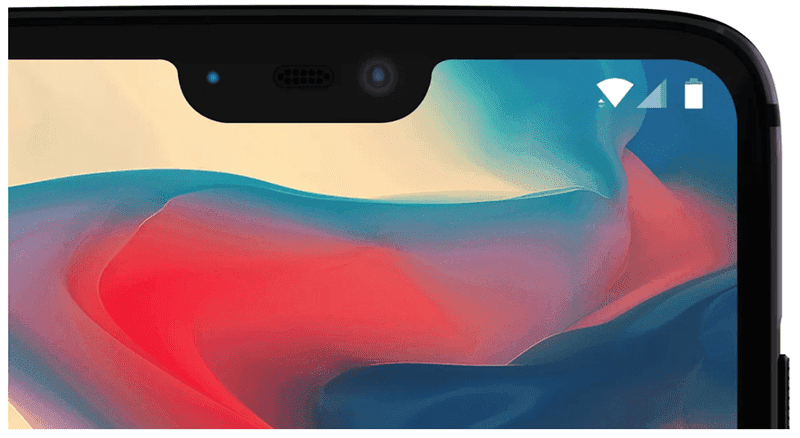The OnePlus 6 will come with a notch
