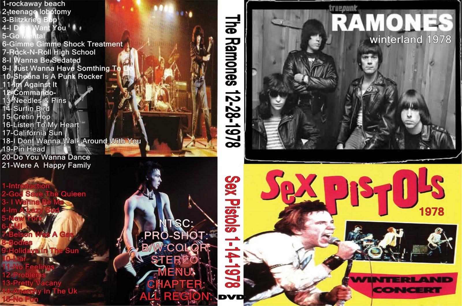 Ramones Sex Pistols 38