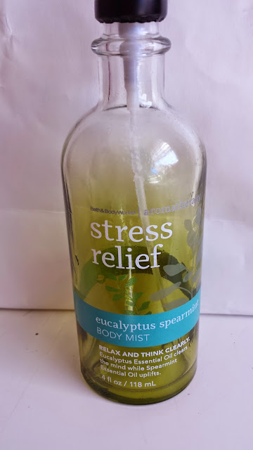 Bath & Body Works Aromatherapy Stress Relief Eucalyptus Spearmint Body Mist - www.modenmakeup.com