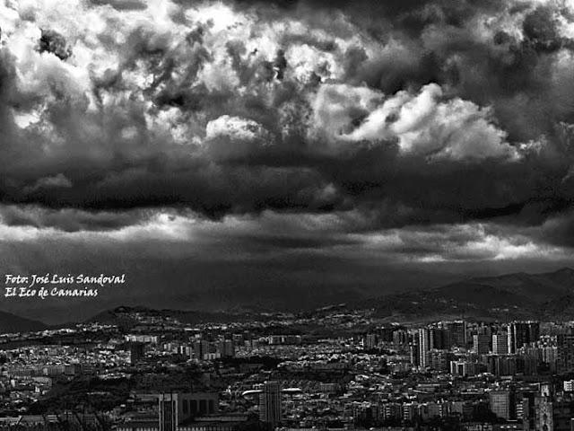 Las lluvias en Gran Canaria caídas el viernes 19 de octubre, provocaron incidencias / Foto: José Luis Sandoval