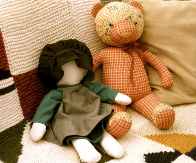 Ginette's dolls