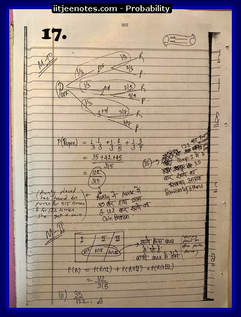 probability notes cbse7