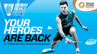Semifinal Dubai Super Series Finals 2017