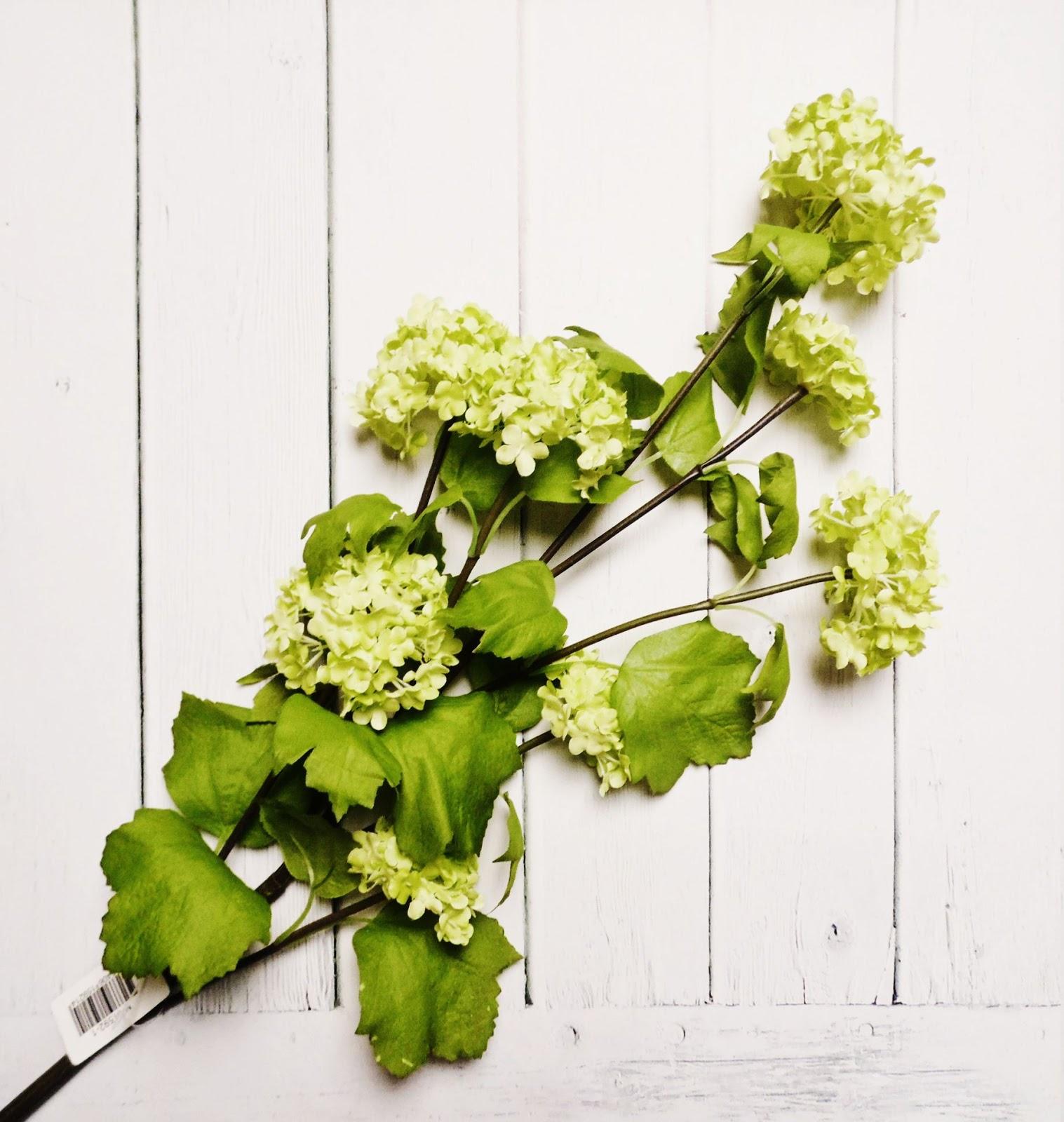 kwiaty sztuczne sztuczna kalina