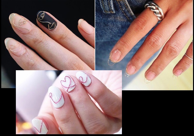 Do Artistic Stuff With Wire Nail Art