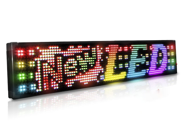 Shop the 26mm Full Color 2 Row Programmable Scrolling LED Sign at AffordableLED.com