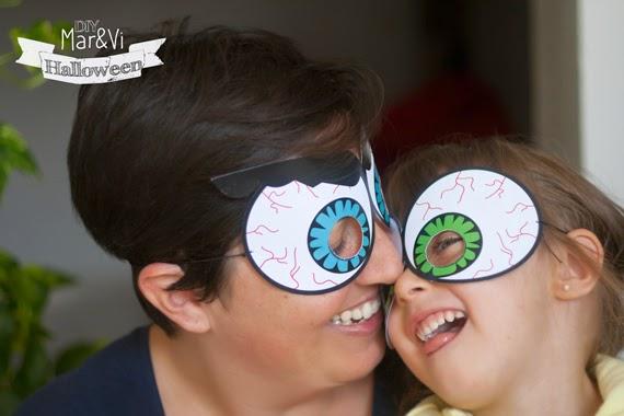 Stampa gratis maschere di Halloween
