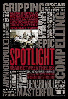 Cartel alternativo de Spotlight (Tom McCarthy, 2015)