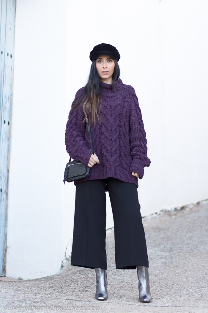 Blogger influencer de moda valenciana con ideas consejos para vestir en invierno con frio