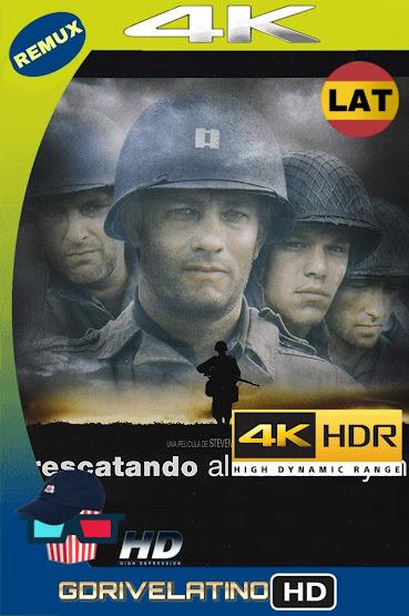 Rescatando al Soldado Ryan (1998) BDRemux 4K HDR LAT-CAS-ING MKV