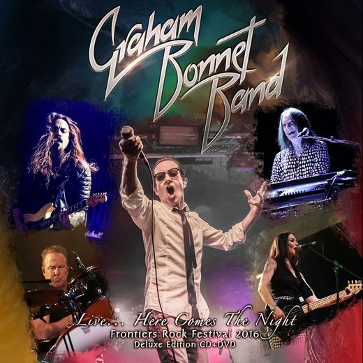 GRAHAM BONNET BAND - Live...Here Comes The Night (2017) full