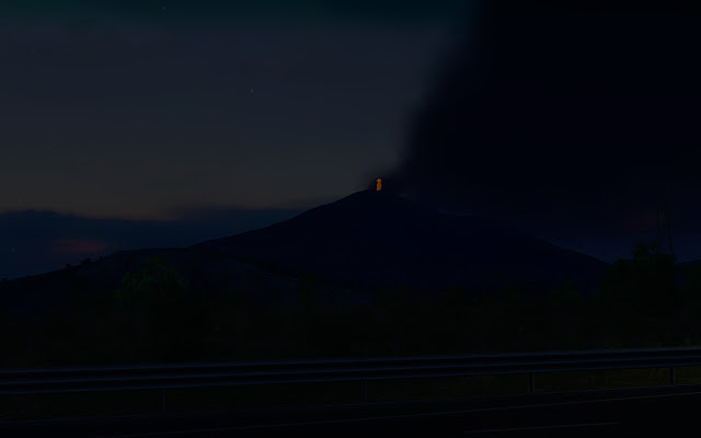 ets 2 etna activity screenshots 2, etna night