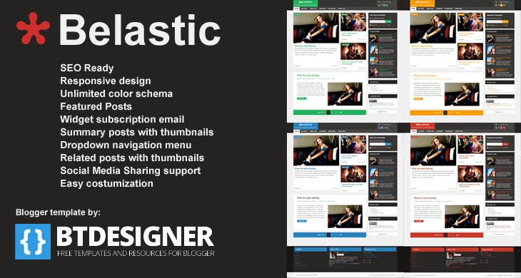 Ads Image of new blogger template belastic by btdesigner